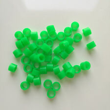 50 Pcs Small Type Dental Silicone Instrument Color Code Rings Light Green