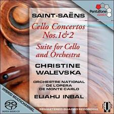 Saint-Saens: Cello Concertos Nos. 1 & 2; Suite for Cello and Orchestra, New Musi