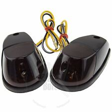 Black Motorcycle Surface Mount Turn Signal Suzuki GSXR Honda CBR Ninja Yamaha