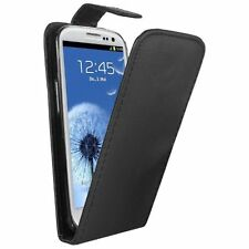 NEW BLACK Leather Flip Case Cover Pouch Saver For Samsung GT-i9301 Galaxy S3 Neo
