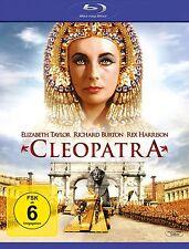 CLEOPATRA Richard Burton ELIZABETH TAYLOR Rex Harrison 2 BLU-RAY CAJA Nuevo