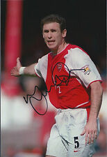 Martin KEOWN Arsenal SIGNED COA Autograph 12x8 Photo AFTAL England World Cup