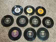 Vintage Lot of Various 45 RPM Records - Fats Domino, Steppenwolf, Elton John etc