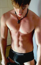 Shirtless Muscular Athletic Frat Boy Jock CK Briefs 18 Year Old PHOTO 4X6 Z15
