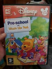 Pre-School With Winnie The Pooh - Ages 2-4 -  PC GAME - FREE POST