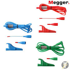 Megger 1001-975 Three Wire Fused Test Lead Set for Megger Multifunction Testers