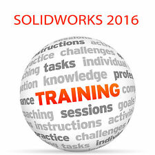 SolidWorks 2016-formazione VIDEO TUTORIAL DVD