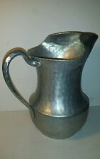 Vintage Everlast 625 Hand Forged Hammered Aluminum Pitcher