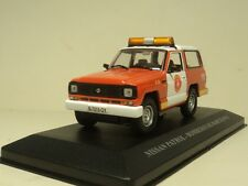ixo 1:43 NISSAN PATROL BOMBEROS DE BARCELONA - Fire Vehicle - Diecast car model