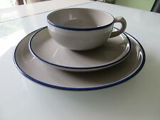 Rosenthal TEA for TWO James KIRKWOOD Blausand Teegedeck 3tlg. Keramik UNBENUTZT