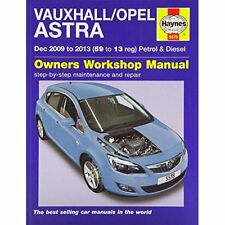 Vauxhall/Opel Astra Service Repair Manual Mead J H Haynes Co Ltd . 9780857335784