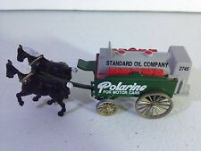 Vintage Standard Oil Company Polarine Motor Cars horse drawn wagon Chevron 9