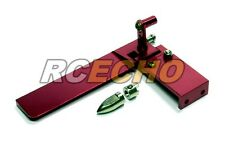 RC Model Ship 95mm Red Aluminium Cooling R/C Hobby Boat Rudder HR530