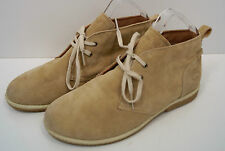 TIMBERLAND Boy's Beige Suede Leather Upper Rubber Sole Casual Ankle Boots UK4