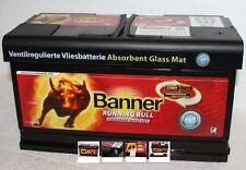 Banner Running Bull 59201 AGM 92Ah 12V Autobatterie Start-Stop / Caravan / Womo