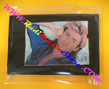 PORTAFOGLIO Wallet GEORGE MICHAEL Wham NERO BLACK 10x14 cm no *cd dvd lp mc vhs
