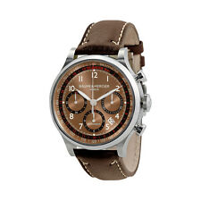 Baume and Mercier Capeland Chronograph Mens Watch MOA10002