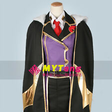 Code Geass Villetta Nu Cosplay Costume Suit Cloak M006