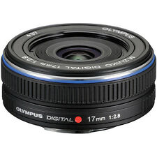 Olympus M.Zuiko Digital 17mm f/2.8 Lens - Black