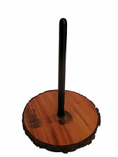 Didgeridoo Display Stand Mahogany Wood with Natural Stains Stuck-in Peg dijeridu