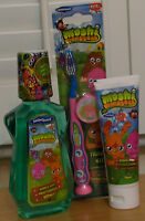MOSHI MONSTERS 3pcs DENTAL CARE FOR CHILDREN - toothbrush, toothpaste, mouthwash
