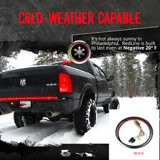 "60"" LED Tailgate Light Bar Truck Pickup Front and rear bumper lamp Reverse Brake"