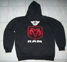 NEU DODGE RAM V8  fan Kapuzenpulli hoodie schwarz veste jacket  jacke vest gilet
