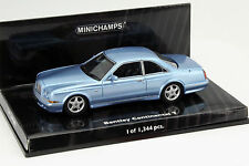 Bentley Continental T Baujahr 1996 blau 1:43 Minichamps