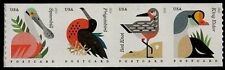 2015 35c Coastal Birds, Postcard, Strip of 4 Scott 4995-98 Mint F/VF NH