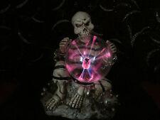 SKULL LAMP Halloween Prop DECOR PLASMA Light SKULL LAMP - New SKELETON Gothic