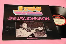 J.J. JOHNSON LP ITALY 1980 JAZZ MINT MAI SUONATO FOC + LIBRETTO BIO DISCOGRAFICO