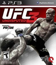 Ufc Undisputed 3  - Sony Playstation 3 Game