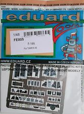 Eduard 1/48 FE805 Zoom etch for the Tamiya F-14A Tomcat kit