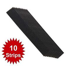 10 x Mesh Sanding Strips 60, 80 & 100 Grit Wooden Stair Spindles Chair Legs