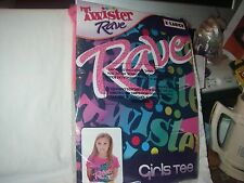 TWISTER RAVE GIRLS TEE SHIRT SIZE X-LARGE MFG. BY FREEZE NEW IN PACKAGE