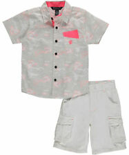 Boys Rocawear 2-Piece Outfit Shirt & Shorts Set Size 3T