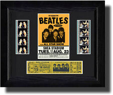 The Beatles - Shea Stadium with ticket (1965) c
