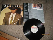 Elton John-Breaking Hearts-1984-LP822088Vinyl MINT