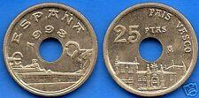 manueduc    ESPAÑA  25  pesetas  1993  PAÍS VASCO  NUEVA