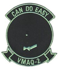 "USMC Marine patch:  Electronics Warfare Squadron 2, VMAQ-2 ""Can Do Easy"""