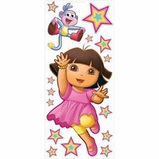 Dora & Boots Giant Peel & Stick Nickelodeon Mini Mural 31720675