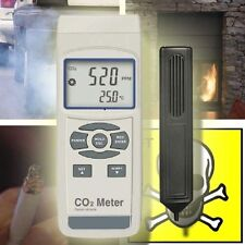 CO2 CARBON DIOXIDE METER GAUGE CO DETECTOR EXHAUST  CO6