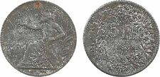 Suisse, jeton de jeu type 5 Francs HELVETIA L.C. Lauer à Nuremberg, 1888 - 104