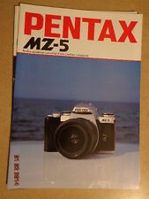 PENTAX : CATALOGUE : MZ-5 01/1996..