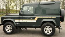 LAND ROVER DEFENDER 90 Aftermarket DECAL Stripes Sticker SET landrover