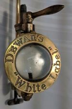 Bronze Dewar's White Label Tap with Bottle Mount. Gaskell & Chambers Ltd. Tap 6