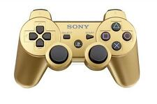 Official Sony PS3 PlayStation 3 Wireless Dualshock 3 Controller Gold Genuine UD