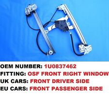 SKODA OCTAVIA WINDOW REGULATOR FRONT RIGHT *RIGHT HAND DRIVE* DRIVER SIDE