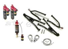 Roll Design Long Travel Arms + Elka Stage 4 Front Rear Shocks YFZ450 YFZ 450 04