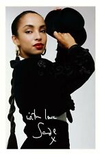 SADE AUTOGRAPHED SIGNED A4 PP POSTER PHOTO